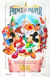 The Prince and the Pauper movie poster (Disney/1990) original 27x40