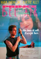 Prince of Bel Air movie poster [Mark Harmon, Kirstie Alley] 26x38