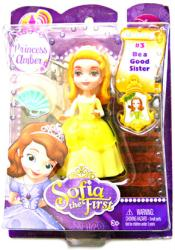 Sofia the First: Princess Amber figure/doll (Mattel/2012) Disney