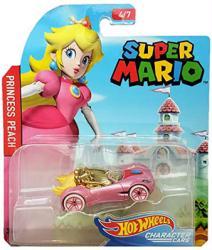 Hot Wheels Character Cars: Super Mario Princess Peach die-cast vehicle