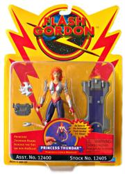 Flash Gordon [Animated] Princess Thundar figure (Playmates/1996)