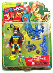 Earthworm Jim: Princess What's-Her-Name action figure (Playmates/1995)
