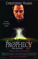The Prophecy 3: The Ascent movie poster [Christopher Walken]