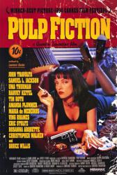 Pulp Fiction movie poster [Uma Thurman] Quentin Tarantino (27 X 40)