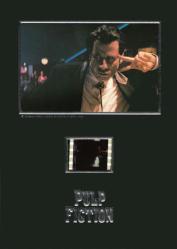 Pulp Fiction 5 1/4'' X 7 1/4'' Senitype film cell [John Travolta]