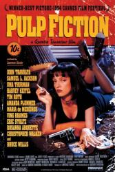 Pulp Fiction movie poster [Uma Thurman] a Quentin Tarantino film