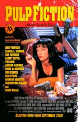 Pulp Fiction movie poster [Uma Thurman] video version (Tarantino)