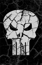 Punisher poster: Logo (Marvel Comics) 22 1/2'' X 34''