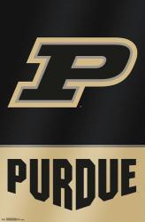 Purdue University poster: Logo (NCAA) 22x34