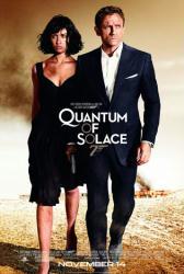 Quantum of Solace movie poster /Daniel Craig/Olga Kurylenko/James Bond