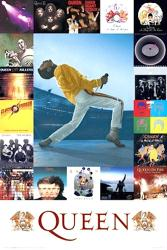 Queen poster: Album Discography (24x36) Freddie Mercury