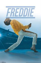 Queen poster: Freddie Mercury Live (22x34)