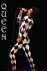 Queen poster: Freddie Mercury (24x36) rock group