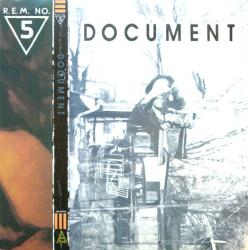 R.E.M. poster: Document vintage LP/Album flat