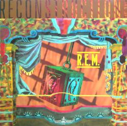 R.E.M. poster: Fables of the Reconstruction vintage LP/Album flat