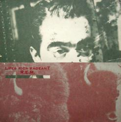 R.E.M. poster: Lifes Rich Pageant vintage LP/Album flat