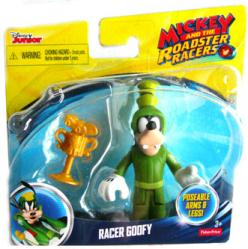 Mickey and the Roadster Racers: Racer Goofy figure (Disney)
