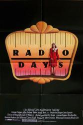 Radio Days movie poster [Mia Farrow] (Woody Allen film) 27x40 original