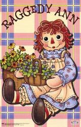 Raggedy Ann poster (22 1/4'' X 34'' poster) New