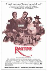 Ragtime movie poster [Howard E Rollins/James Cagney] original 27 X 41