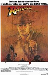 Raiders of the Lost Ark movie poster (1981) [Indiana Jones] 27 X 40