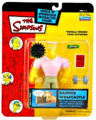 Simpsons Series 11: Rainier Wolfcastle action figure (Playmates/2002)