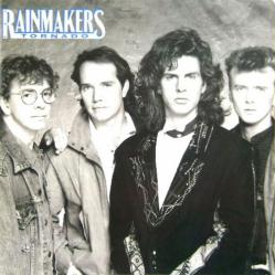 The Rainmakers poster: Tornado vintage LP/Album flat