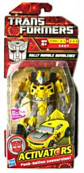 Transformers Activators: Rally Rumble Bumblebee action figure (Hasbro)