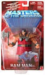 Masters of the Universe: Ram Man action figure (Mattel/2002) MOTU