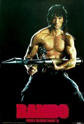 Rambo: First Blood Part II movie poster [Sylvester Stallone] 27 X 39