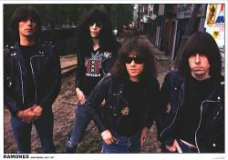The Ramones poster: Amsterdam 1977 (33'' X 23 1/2'') New