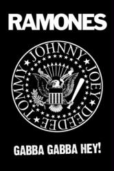 Ramones poster: Gabba Gabba Hey (24'' X 36'') New