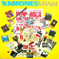 The Ramones poster: Ramones Mania vintage LP/Album flat