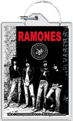 "The Ramones keychain: Rocket to Russia (1 1/2"" X 2 1/4"")"