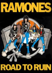 The Ramones poster: Road to Ruin (23 1/2'' X 33'')