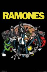The Ramones poster: Road to Ruin (22x34)