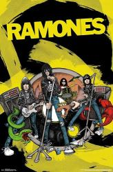 Ramones poster: Band (22x34) Road to Ruin
