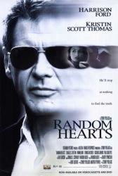 Random Hearts movie poster [Harrison Ford] 27x40 video version
