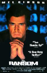 Ransom movie poster [Mel Gibson] 26x40 video poster