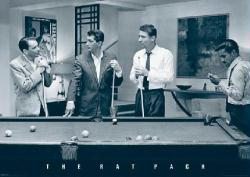 "The Rat Pack poster: Pool Table (33"" x 23.5"") Sinatra, Martin, etc."