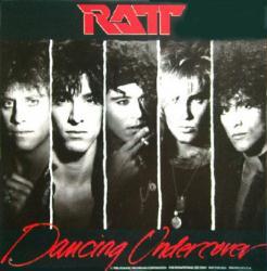 Ratt poster: Dancing Undercover vintage LP/Album flat