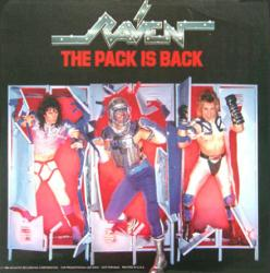 Raven poster: The Pack Is Back vintage LP/Album flat