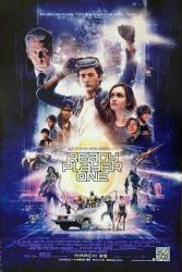 Ready Player One movie poster [a Steven Spielberg film] 27x40 original