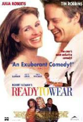 Ready To Wear movie poster [Julia Roberts/Tim Robbins] 26x40
