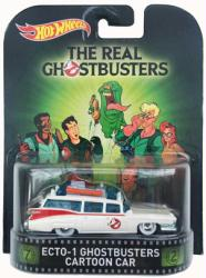 Hot Wheels Retro Entertainment: Real Ghostbusters Ecto-1 Cartoon Car