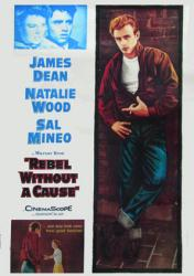 Rebel Without A Cause movie poster [James Dean, Natalie Wood] 20x28