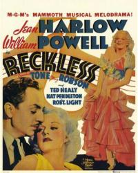 Reckless movie poster [Jean Harlow & William Powell] 22'' X 28''