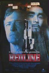 RedLine movie poster [Rutger Hauer & Mark Dacascos] VG