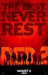Red 2 movie poster (original advance) 27'' X 40''