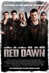 Red Dawn movie poster [Chris Hemsworth & Josh Hutcherson] 27 X 40